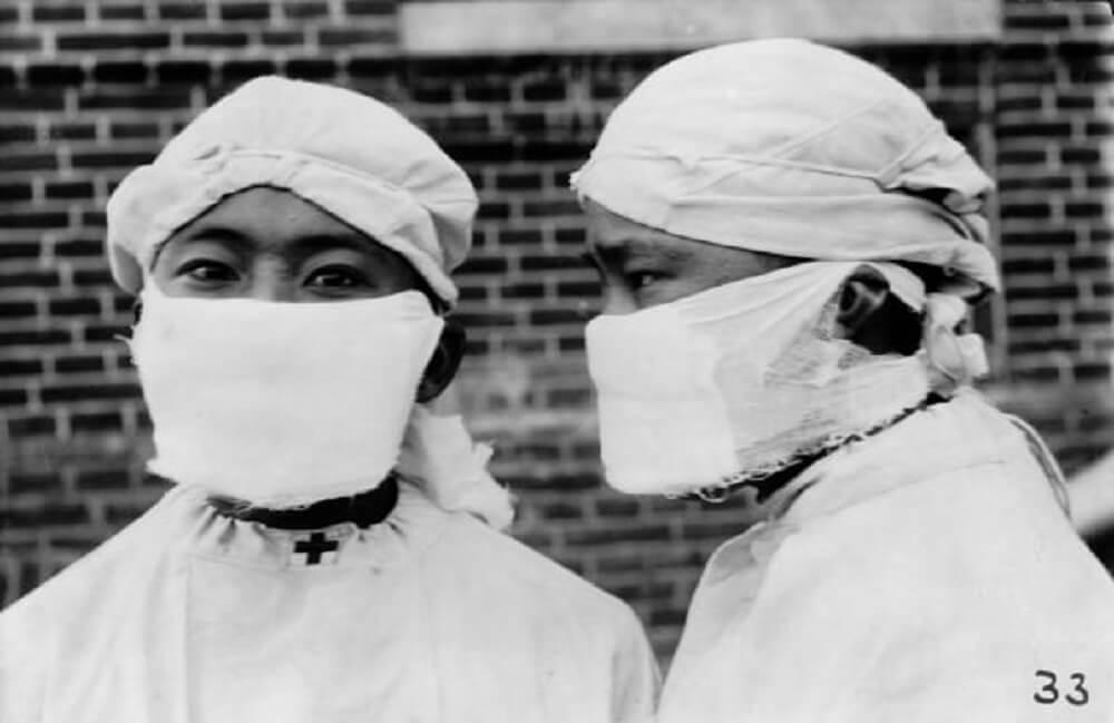Anti plague mask