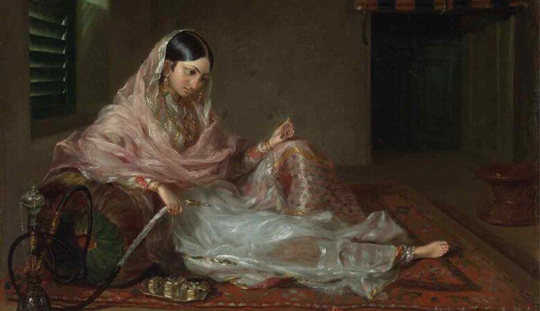Dhakai Muslin woman